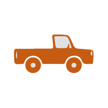 pick-up truck icon